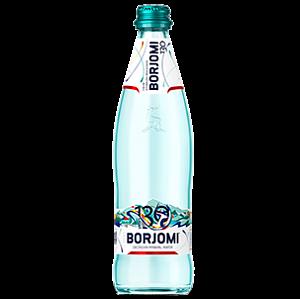 "Вода ""Боржомі"" 0,5 л скло"