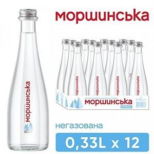 "Вода ""Моршинська"" 0,33 л негазована (скло)"