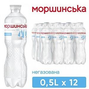 """Вода """"Моршинська"""" 0,5 л негазована"""
